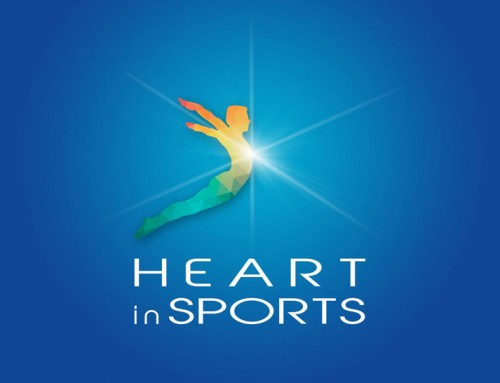 Heart in Sports Logo