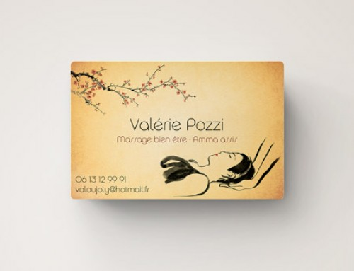 Carte visite V. Pozzi